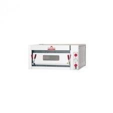 ITALFORNI - Four à pizza 1 chambre commandes mécaniques - Capacité 4, 6 ou 9 pizzas - Avec ou Sans Support