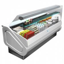 DAP - Vitrine réfrigérée positive vitrage droit - Largeur de 1000 à 3000 mm
