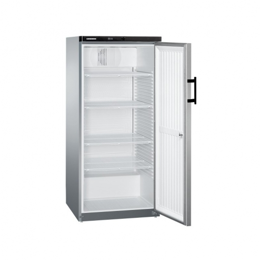 LIEBHERR - Armoire froide ventilée inox 544 L - GKVESF5445