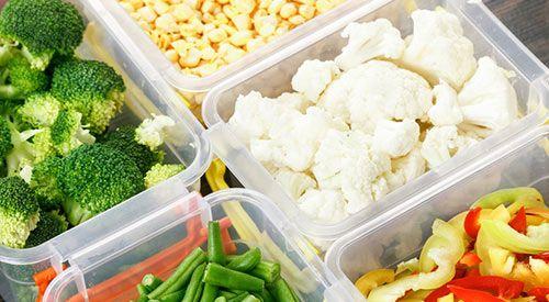 Bacs et conteneurs alimentaires